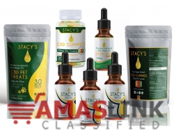 Relieve Chronic Pain, Stress, Anxiety, Depression with CBD Oil
