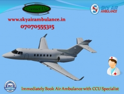 Receive Cardinal Air Ambulance Service in Gorakhpur with Doctor