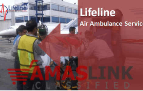 Lifeline Air Ambulance in Raipur Cost-Effective Patient Dispatch Service