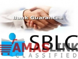 We are direct providers of BG/SBLC for Lease and Sales